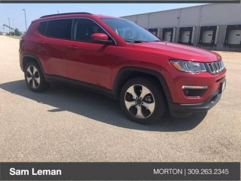2017 Jeep Compass for sale at Sam Leman CDJRF Morton in Morton IL