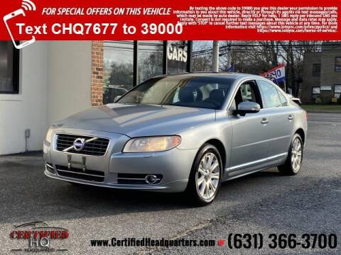 2011 Volvo S80 for sale at CERTIFIED HEADQUARTERS in St James NY