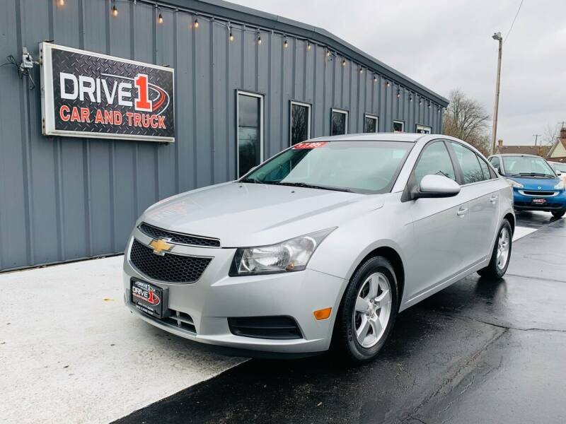 2014 Chevrolet Cruze for sale at Drive 1 Car & Truck in Springfield OH