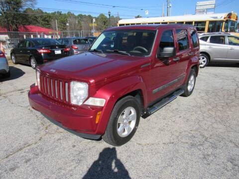 2012 Jeep Liberty for sale at King of Auto in Stone Mountain GA