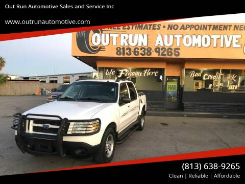 2004 Ford Explorer Sport Trac for sale at Out Run Automotive Sales and Service Inc in Tampa FL