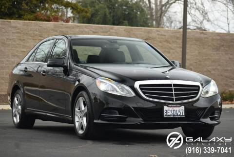 2014 Mercedes-Benz E-Class for sale at Galaxy Autosport in Sacramento CA