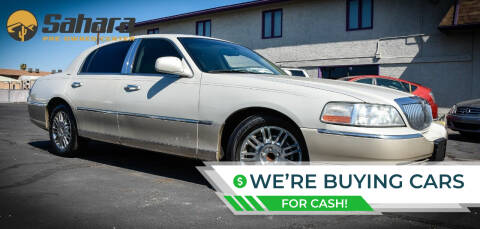 2006 Lincoln Town Car for sale at Sahara Pre-Owned Center in Phoenix AZ