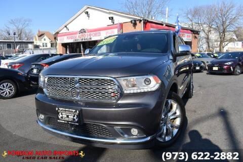 2017 Dodge Durango for sale at www.onlycarsnj.net in Irvington NJ