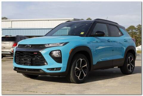 2021 Chevrolet TrailBlazer for sale at STRICKLAND AUTO GROUP INC in Ahoskie NC