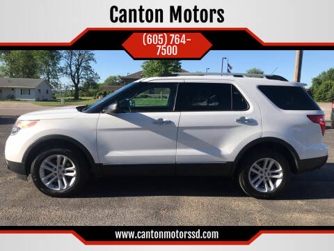 2013 Ford Explorer for sale at Canton Motors in Canton SD