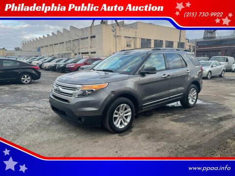 2013 Ford Explorer for sale at Philadelphia Public Auto Auction in Philadelphia PA