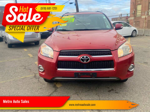 2010 Toyota RAV4 for sale at Metro Auto Sales in Lawrence MA