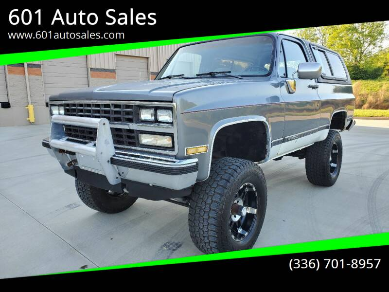 1989 Chevrolet Blazer for sale at 601 Auto Sales in Mocksville NC