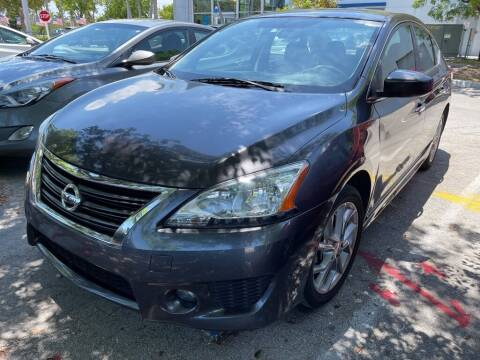 2014 Nissan Sentra for sale at DORAL HYUNDAI in Doral FL