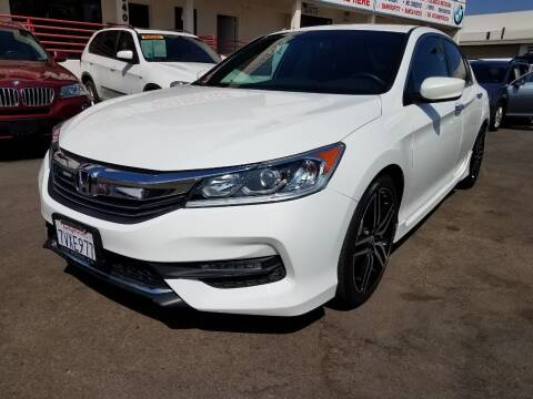 2017 Honda Accord for sale at Convoy Motors LLC in National City CA