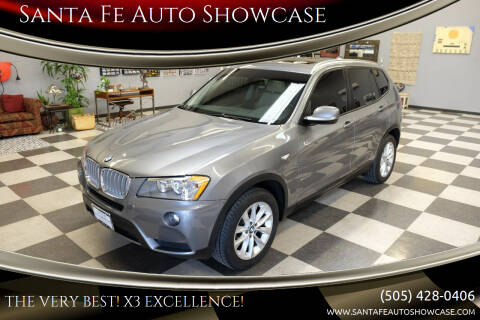 2013 BMW X3 for sale at Santa Fe Auto Showcase in Santa Fe NM