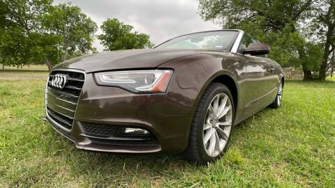 2014 Audi A5 for sale at Carz Of Texas Auto Sales in San Antonio TX