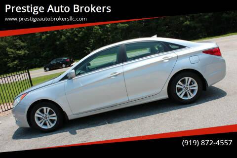2013 Hyundai Sonata for sale at Prestige Auto Brokers in Raleigh NC
