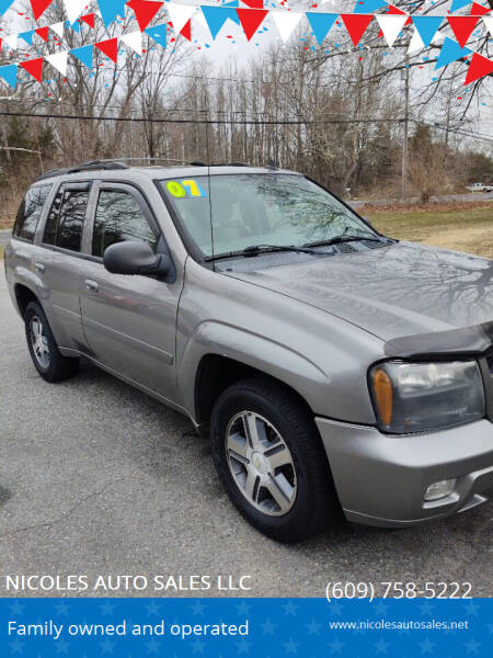 2007 Chevrolet TrailBlazer for sale at NICOLES AUTO SALES LLC in Cream Ridge NJ