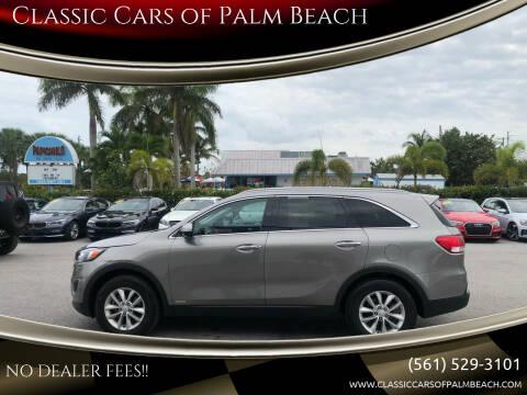 2017 Kia Sorento for sale at Classic Cars of Palm Beach in Jupiter FL