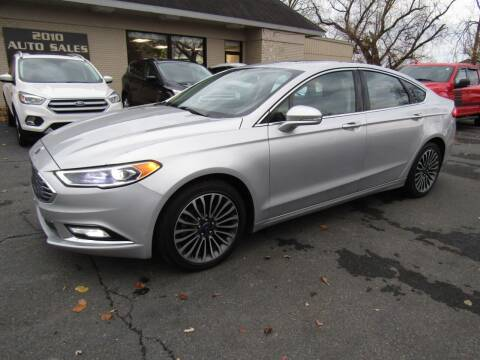 2017 Ford Fusion for sale at 2010 Auto Sales in Troy NY