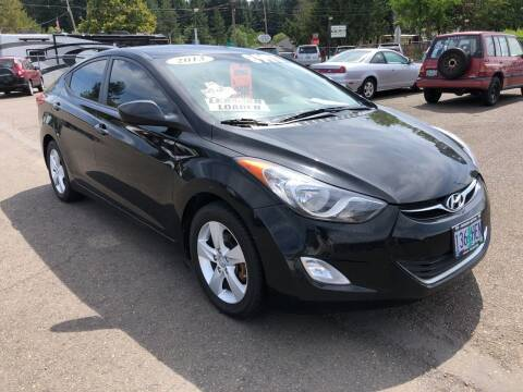 2013 Hyundai Elantra for sale at Freeborn Motors in Lafayette, OR