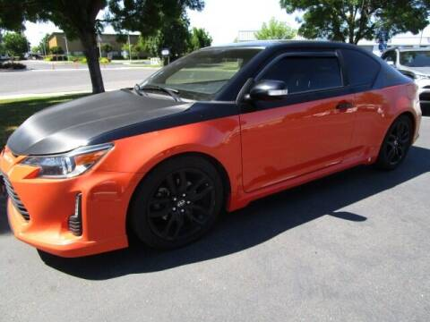2015 Scion tC for sale at KM MOTOR CARS in Modesto CA