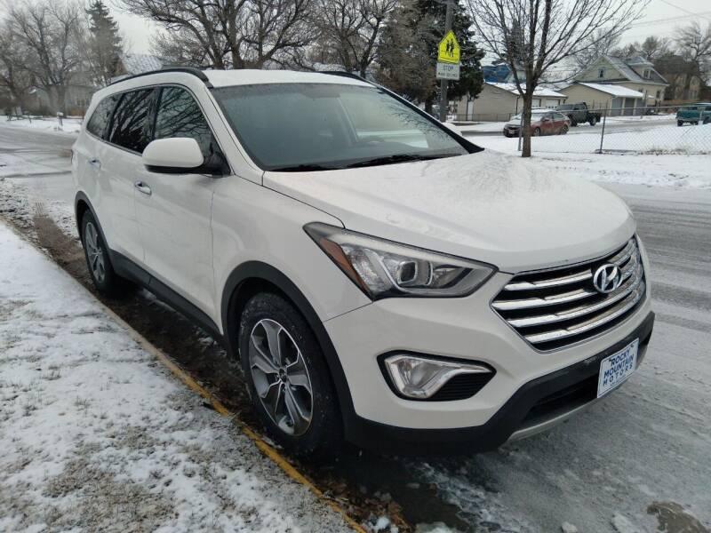 2016 Hyundai Santa Fe for sale at Kevs Auto Sales in Helena MT
