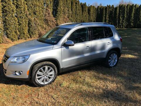 2011 Volkswagen Tiguan for sale at MECHANICSBURG SPORT CAR CENTER in Mechanicsburg PA