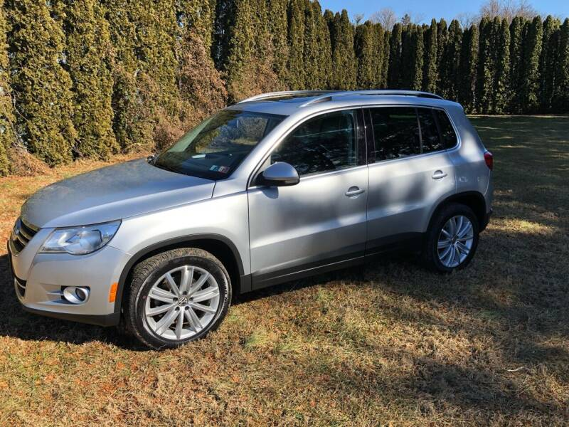 2011 Volkswagen Tiguan for sale at MECHANICSBURG SPORT CAR CENTER in Mechanicsburg PA