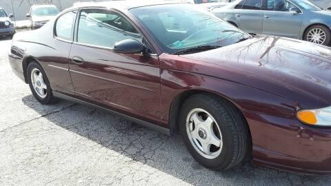 2003 Chevrolet Monte Carlo for sale at BBC Motors INC in Fenton MO