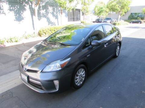 2014 Toyota Prius Plug-in Hybrid for sale at Pennington's Auto Sales Inc. in Orange CA