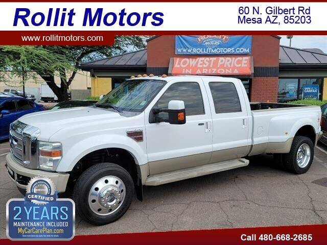 2008 Ford F-450 Super Duty for sale at Rollit Motors in Mesa AZ