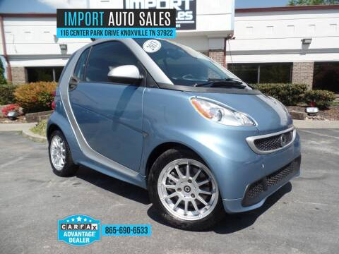 2013 Smart fortwo for sale at IMPORT AUTO SALES in Knoxville TN