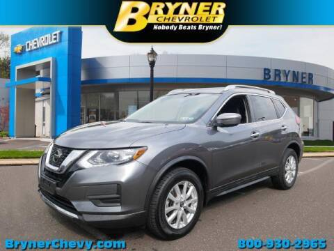 2018 Nissan Rogue for sale at BRYNER CHEVROLET in Jenkintown PA