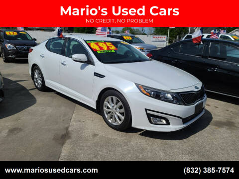 2015 Kia Optima for sale at Mario's Used Cars - South Houston Location in South Houston TX