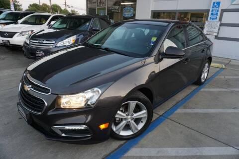 2015 Chevrolet Cruze for sale at Industry Motors in Sacramento CA