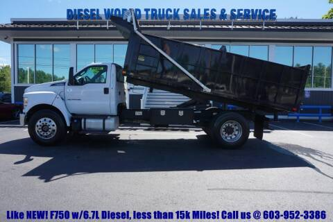 2016 Ford F-750 Super Duty for sale at Diesel World Truck Sales - Dump Truck in Plaistow NH