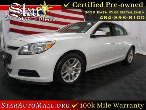 2016 Chevrolet Malibu Limited for sale at STAR AUTO MALL 512 in Bethlehem PA