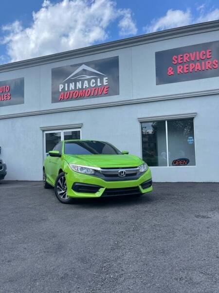 2016 Honda Civic for sale at Pinnacle Automotive Group in Roselle NJ