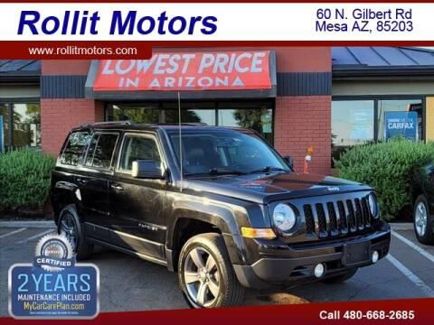 2015 Jeep Patriot for sale at Rollit Motors in Mesa AZ
