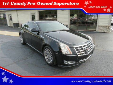 2014 Cadillac CTS for sale at Tri-County Pre-Owned Superstore in Reynoldsburg OH