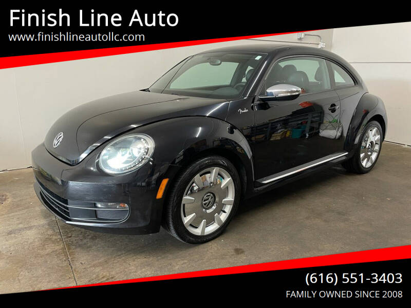 2013 Volkswagen Beetle for sale at Finish Line Auto in Comstock Park MI