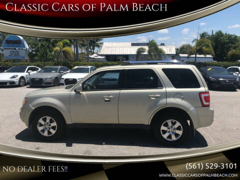 2011 Ford Escape for sale at Classic Cars of Palm Beach in Jupiter FL