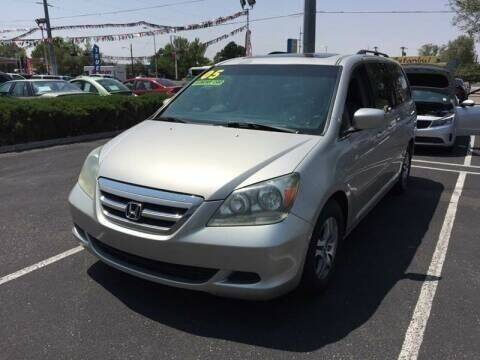 2005 Honda Odyssey for sale at ALBUQUERQUE AUTO OUTLET in Albuquerque NM