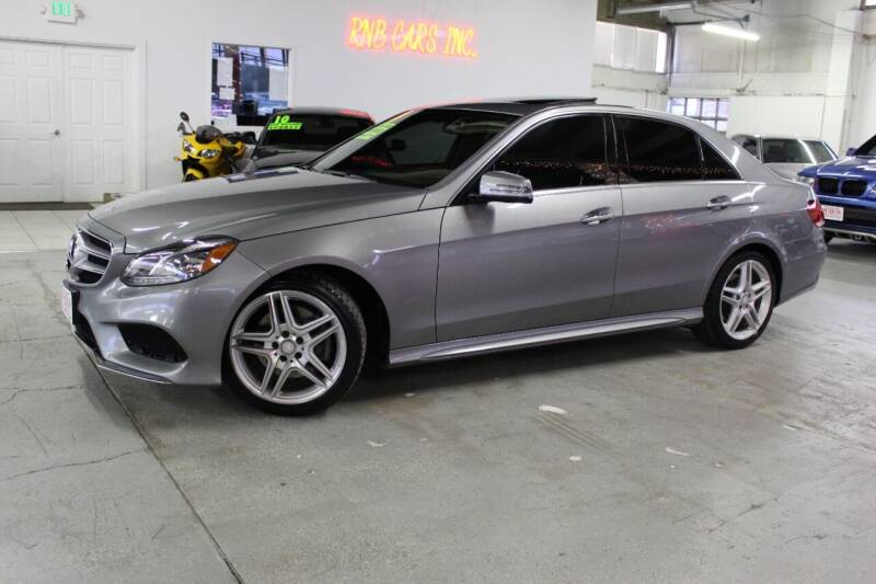 2014 Mercedes-Benz E-Class for sale at R n B Cars Inc. in Denver CO