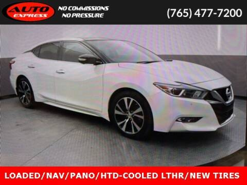 2018 Nissan Maxima for sale at Auto Express in Lafayette IN
