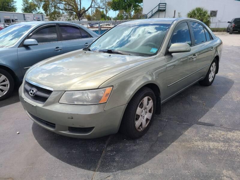 2008 Hyundai Sonata for sale at CAR-RIGHT AUTO SALES INC in Naples FL