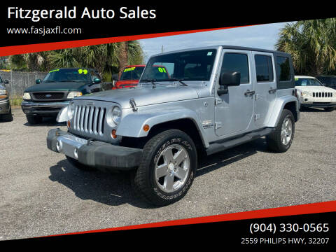 2008 Jeep Wrangler Unlimited for sale at Fitzgerald Auto Sales in Jacksonville FL