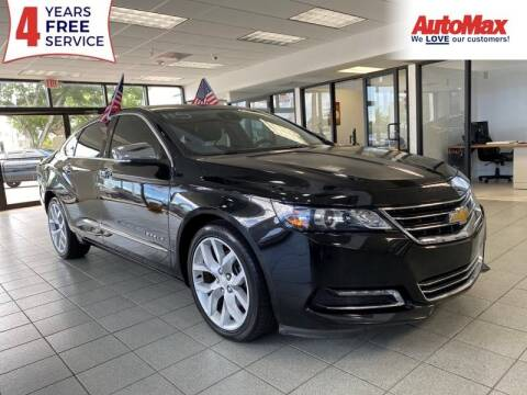 2017 Chevrolet Impala for sale at Auto Max in Hollywood FL