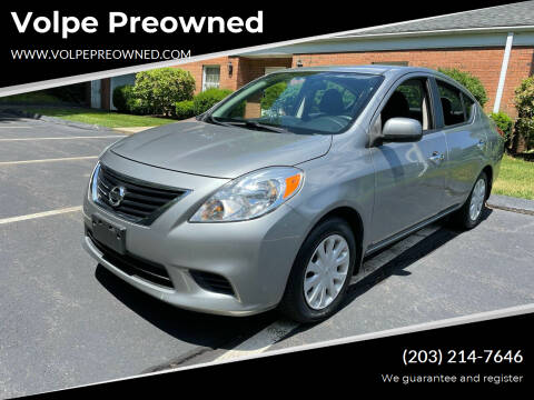 2013 Nissan Versa for sale at Volpe Preowned in North Branford CT