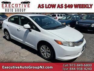 2012 Honda Civic for sale at Executive Auto Group in Irvington NJ