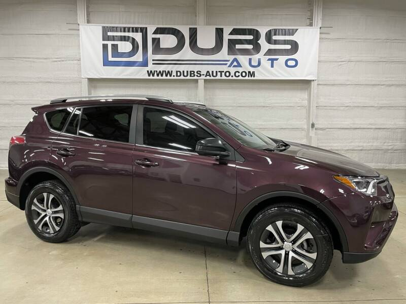 2018 Toyota RAV4 for sale at DUBS AUTO LLC in Clearfield UT