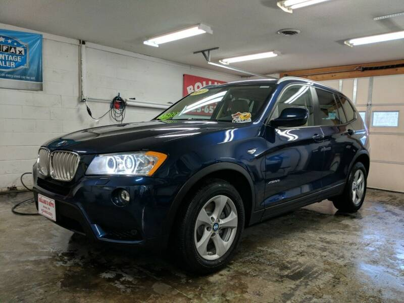 2011 BMW X3 for sale at BOLLING'S AUTO in Bristol TN